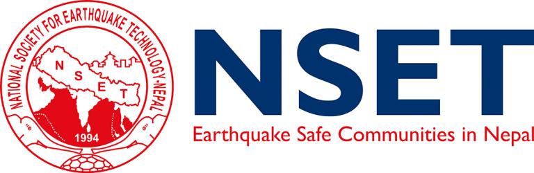 National Society for Earthquake Technology-Nepal (NSET) logo
