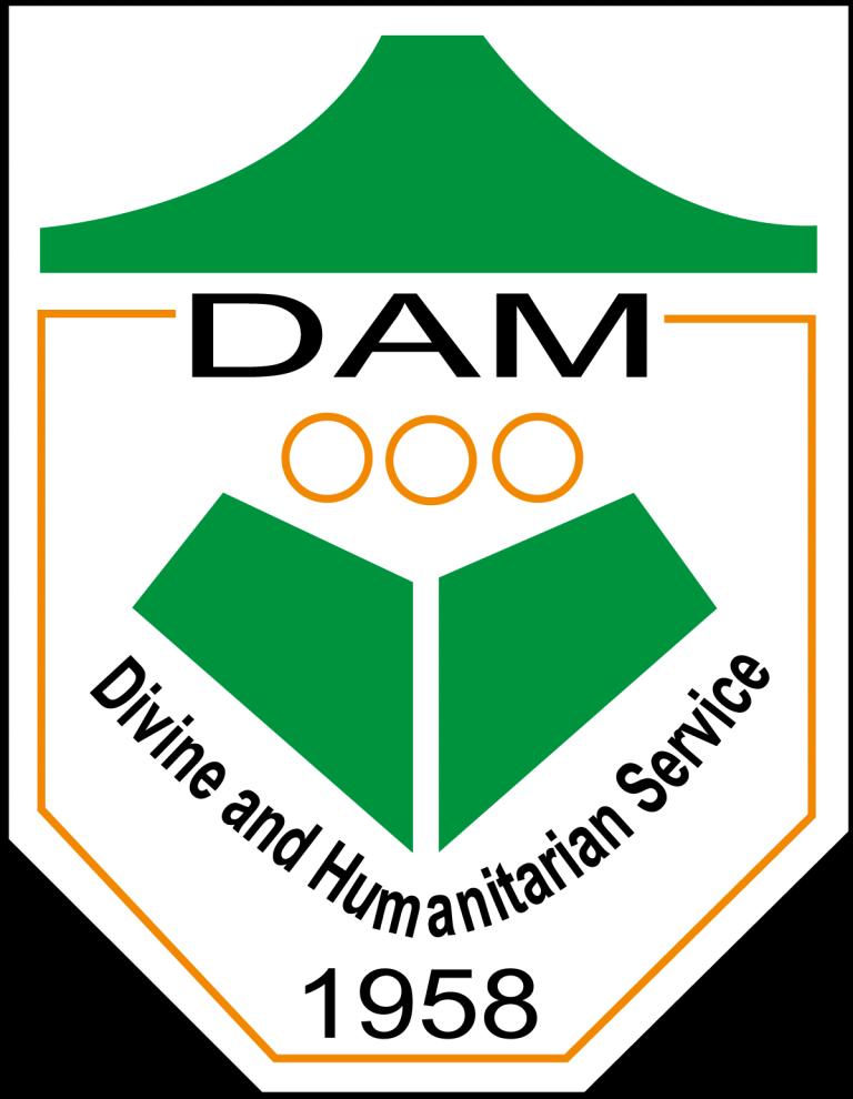 Dhaka Ahsania Mission (DAM) logo