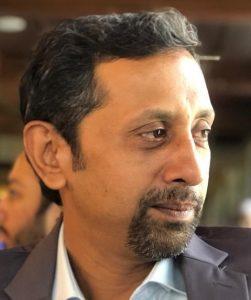 Portrait of Malick Shahbaz Ahmad Tahir