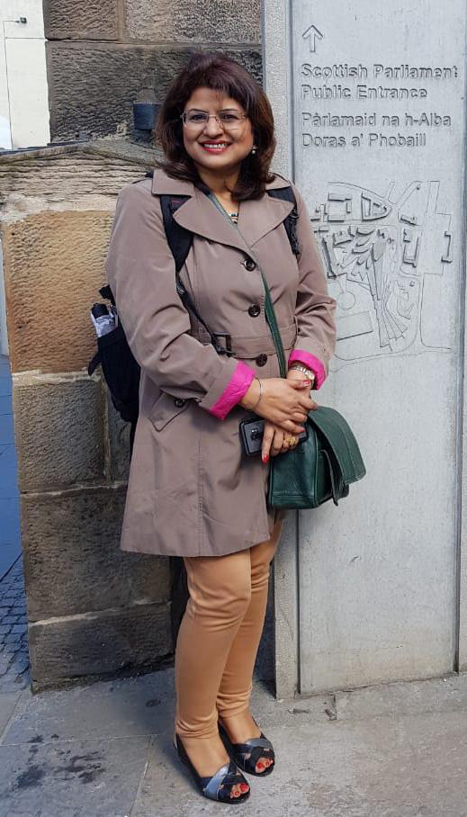 Portrait of Shazia Shaheen