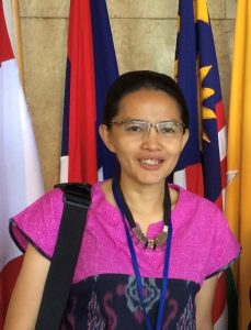 Portrait of Vanda Lengkong