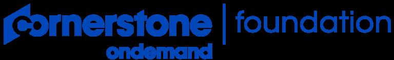 The Cornerstone OnDemand Foundation logo
